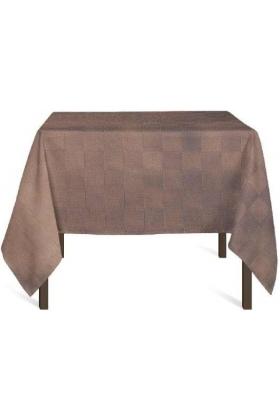 PURE - Nappe damier 160x210 + 6 serviettes