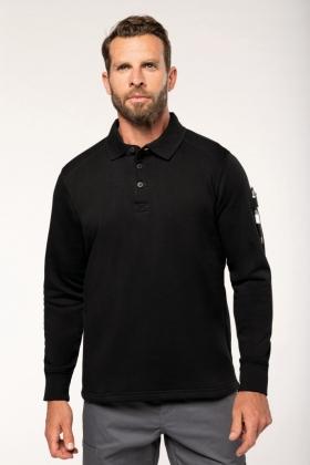 Sweat-shirt col polo